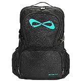 Nfinity Black Sparkle Backpack