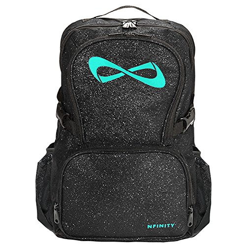 Bag Of Glitter (Nfinity Sparkle Backpack Girls Glitter Bookbag | Perfect Bag for Travel, School, Gym, Cheer Practices | 15