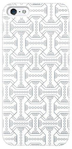 Katinkas KATIP51088 Hard Cover für Apple iPhone 5 Aztec weiß