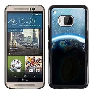 Shell-Star Arte & diseño plástico duro Fundas Cover Cubre Hard Case Cover para HTC One M9 ( Space Planet Galaxy Stars 66 )