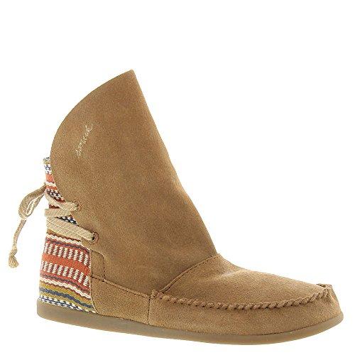 Sanuk Julep Shoe – Women's Chestnut / Burgundy Bayridge et 7.5