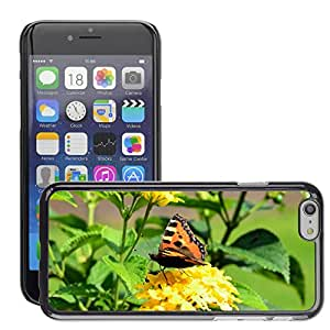 GoGoMobile Slim Protector Hard Shell Cover Case // M00125165 Peacock Butterfly Insect Flower // Apple iPhone 6 4.7""