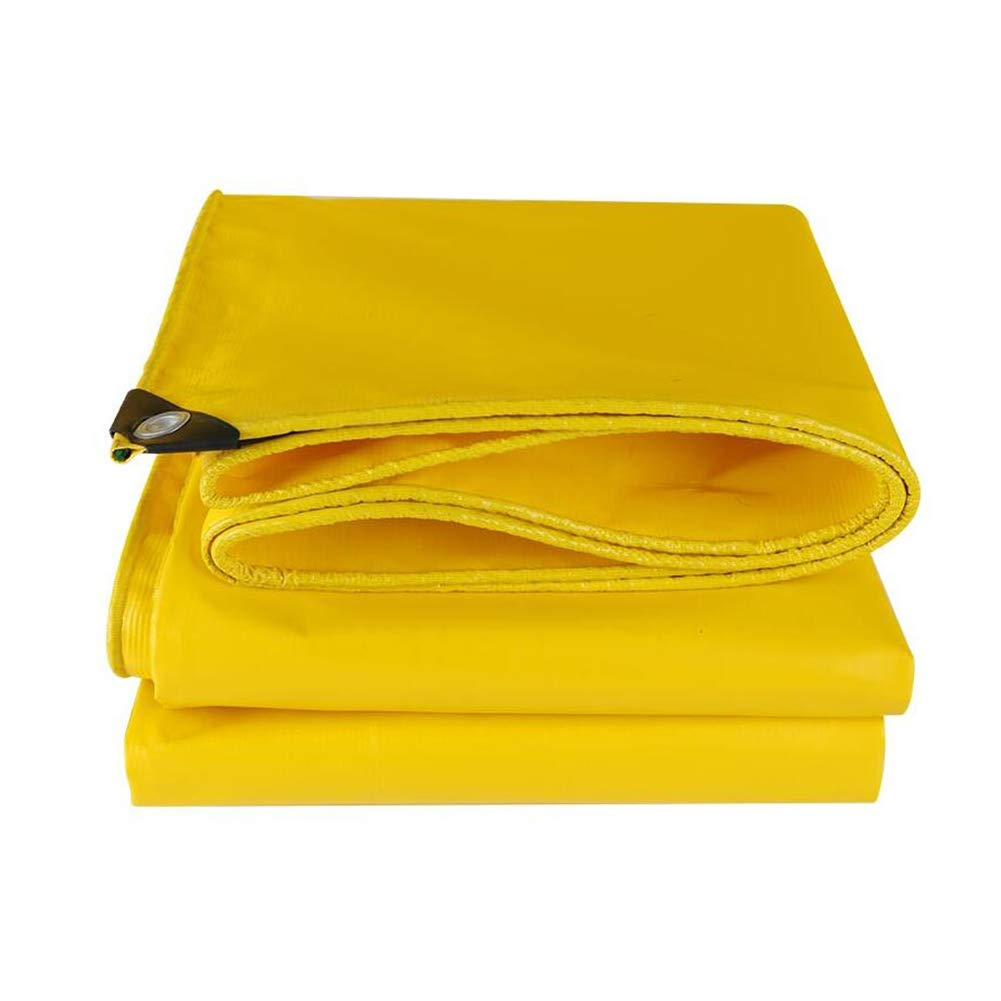 XF タープ 防水ポリウレタン防水日焼け止め耐摩耗黄色500g / m2-0.4mm テントタープ (サイズ さいず : 5*6m) 5*6m  B07L2MWYH2