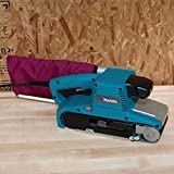 "Makita 4"""" x 24"""" Belt Sander, Blue"