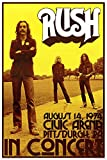 AQUARIUS Rush Concert Poster Print, 24 by 36-Inch
