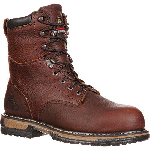 Rocky Men's Iron Clad Eight Inch Work Boot