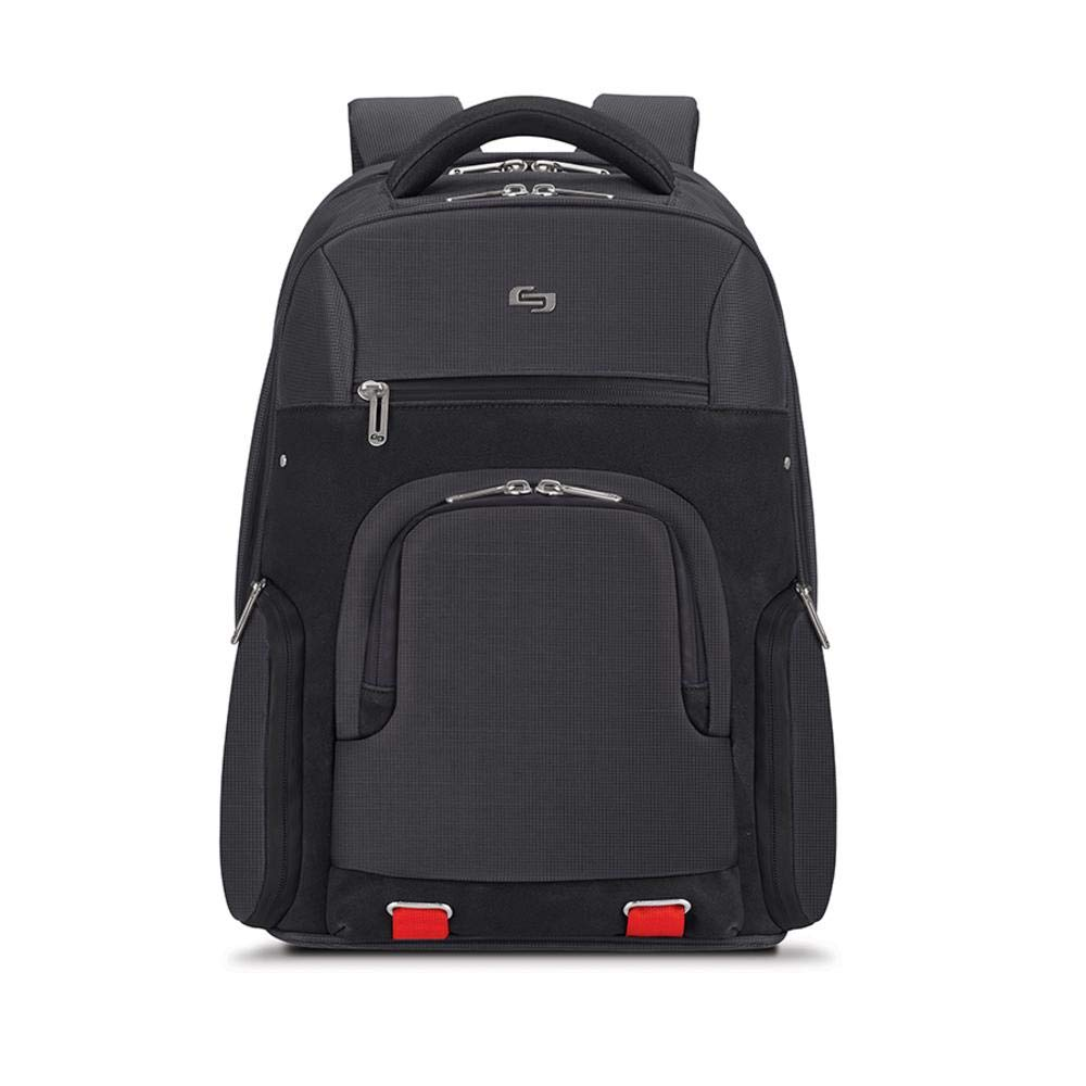 Solo Stealth 15.6'' Laptop Backpack, Black by SOLO