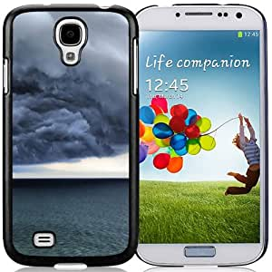 New Beautiful Custom Designed Cover Case For Samsung Galaxy S4 I9500 i337 M919 i545 r970 l720 With Storm Clouds Phone Case
