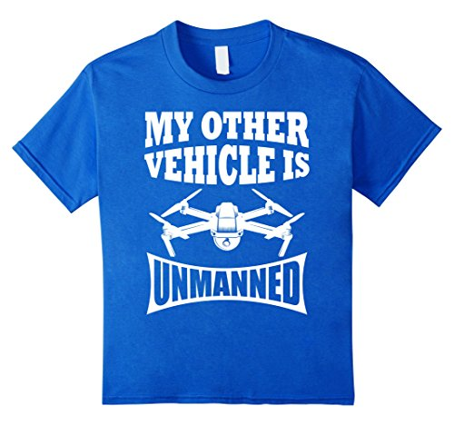 """My other vehicle is unmanned"" Funny Drone Shirt"