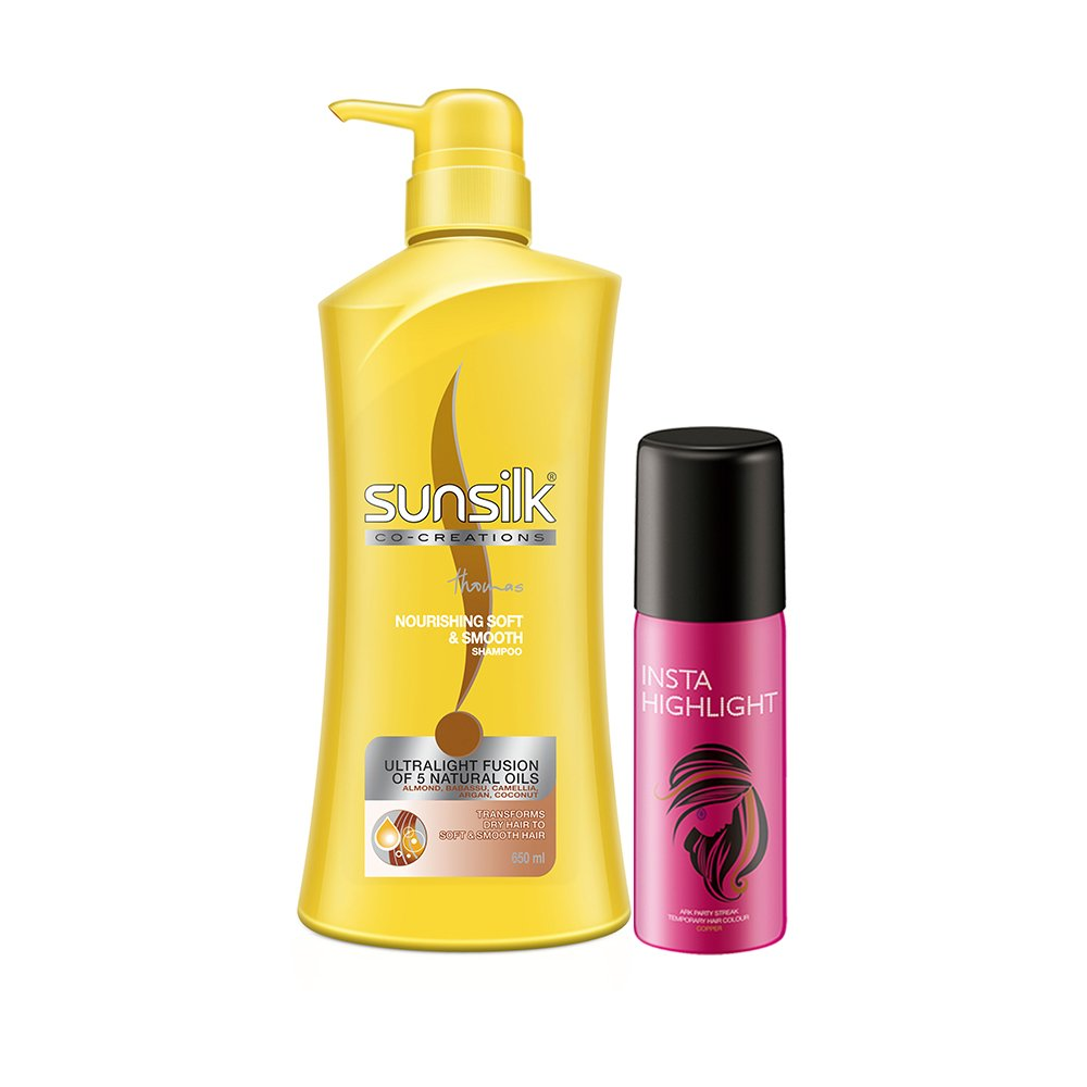 Buy Sunsilk Nourishing Soft And Smooth 650ml With Free Temporary