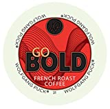 Wolfgang Puck Go Bold French Roast Coffee Keurig K-Cups, 96 Count