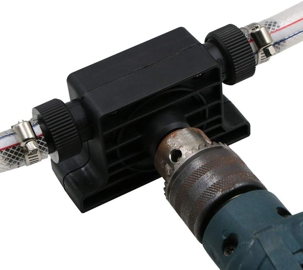 Bomba de taladro resistente para aceite y l/íquidos apta para todos los taladros negro