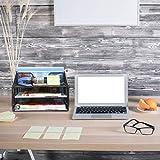 Samstar Mesh Desk File Organizer Letter Tray
