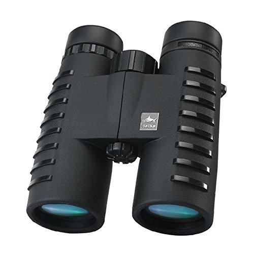 Asika wideviews HD 10 x 42 Professional Bird Watching双眼鏡、ネックストラップでキャリーバッグ、bak4プリズムOpticsキャンプ/狩猟望遠鏡 B074Z5L71X