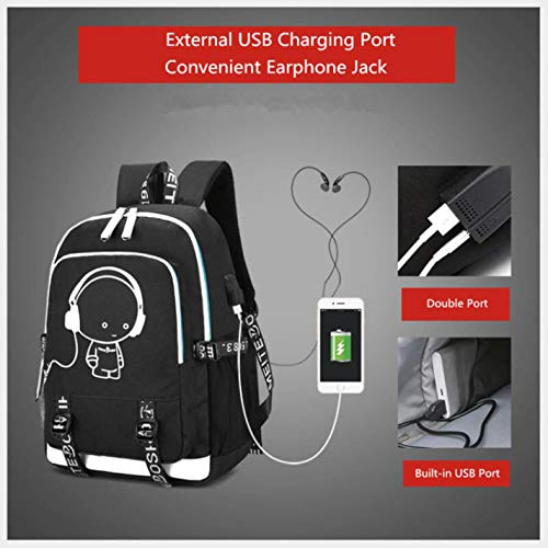 school cute Black Pure Women's backpack waterproof EZ8qpw0xqH