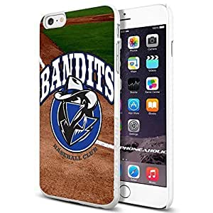 BANDITS Baseball Club,Cool iPhone 6 Plus (6+ , 5.5 Inch) Smartphone Case Cover Collector iphone TPU Rubber Case White