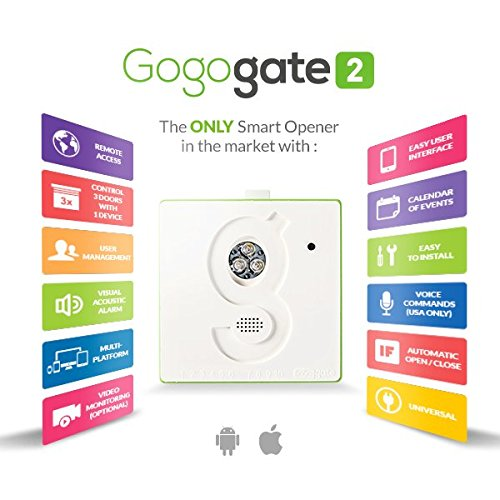 Gogogate 2 Open And Close Your Garage Door Remotely Internet Of