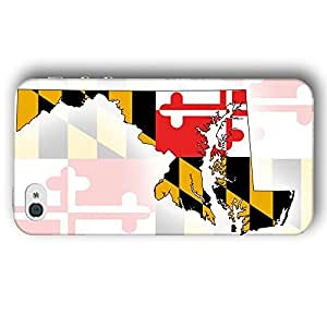 Maryland USA State Flag For SamSung Galaxy S4 Mini Case Cover Slim Phone Case