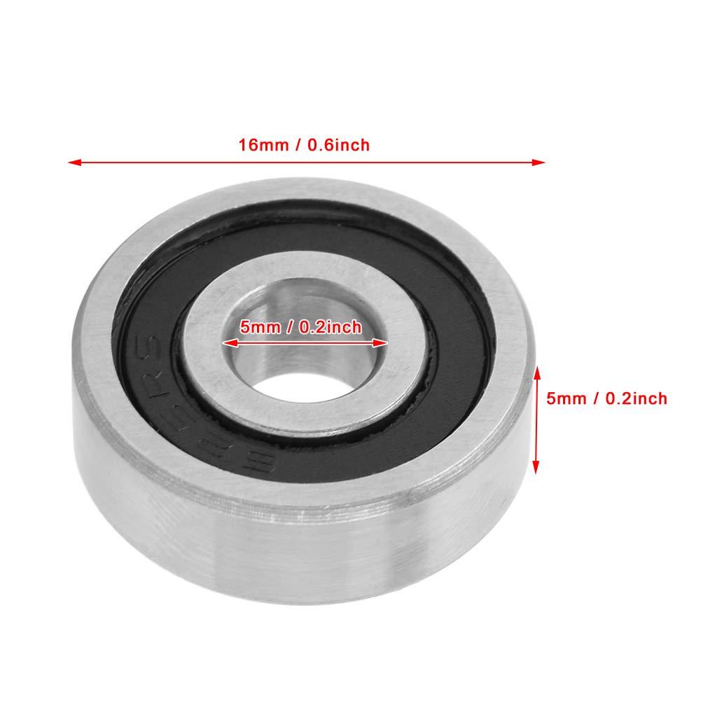 Deep Groove Bearing Ost kaufen 20 St/ück 625RS Gummi abgedichtete Deep Groove Kugellager 16mmx5mmx5mm