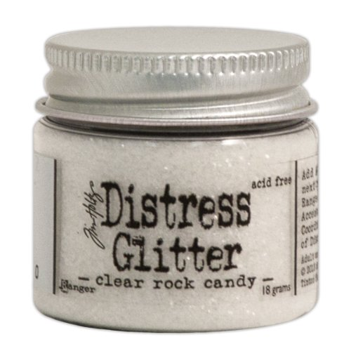 Ranger Tim Holtz Distress Glitter, 1-Ounce, Clear Rock (Tim Holtz Embossing Powder)
