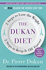Devised by Dr. Pierre Dukan, a French medical doctor who has spent his career helping people to lose weight, the Dukan Diet rejects counting calories and promises permanent weight loss while allowing adherents to eat as much as they like.  Or...