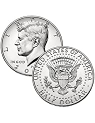 2018 P, D Kennedy Half Dollar 2 Coin Set Uncirculated