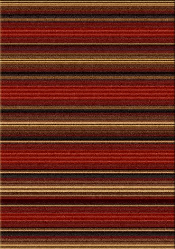 Sante Fe Stripe - Multi - Lodge Multi Area Rug
