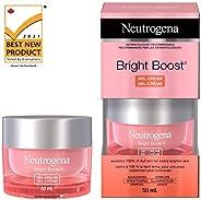Neutrogena Bright Boost Gel Cream, Brightening Face Moisturizer With Aha, Pha, Mandelic Acid & Neoglucosam