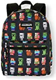 Minecraft Backpack Characters All Over Print 16inch Bag