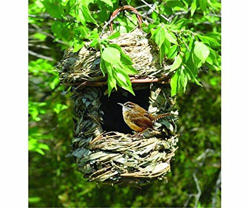 Seed Feeders NEW ACORN HANGING GRASS ROOSTING POCKET BIRDHOUSE, (Acorn Birdhouse)