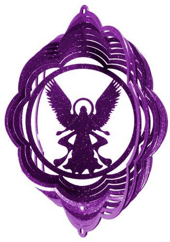 SWEN Products ANGEL Cloud Mini Swirly Metal Wind Spinner