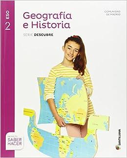 Geografía e Historia 2 eso Madrid + Cuaderno Santillana