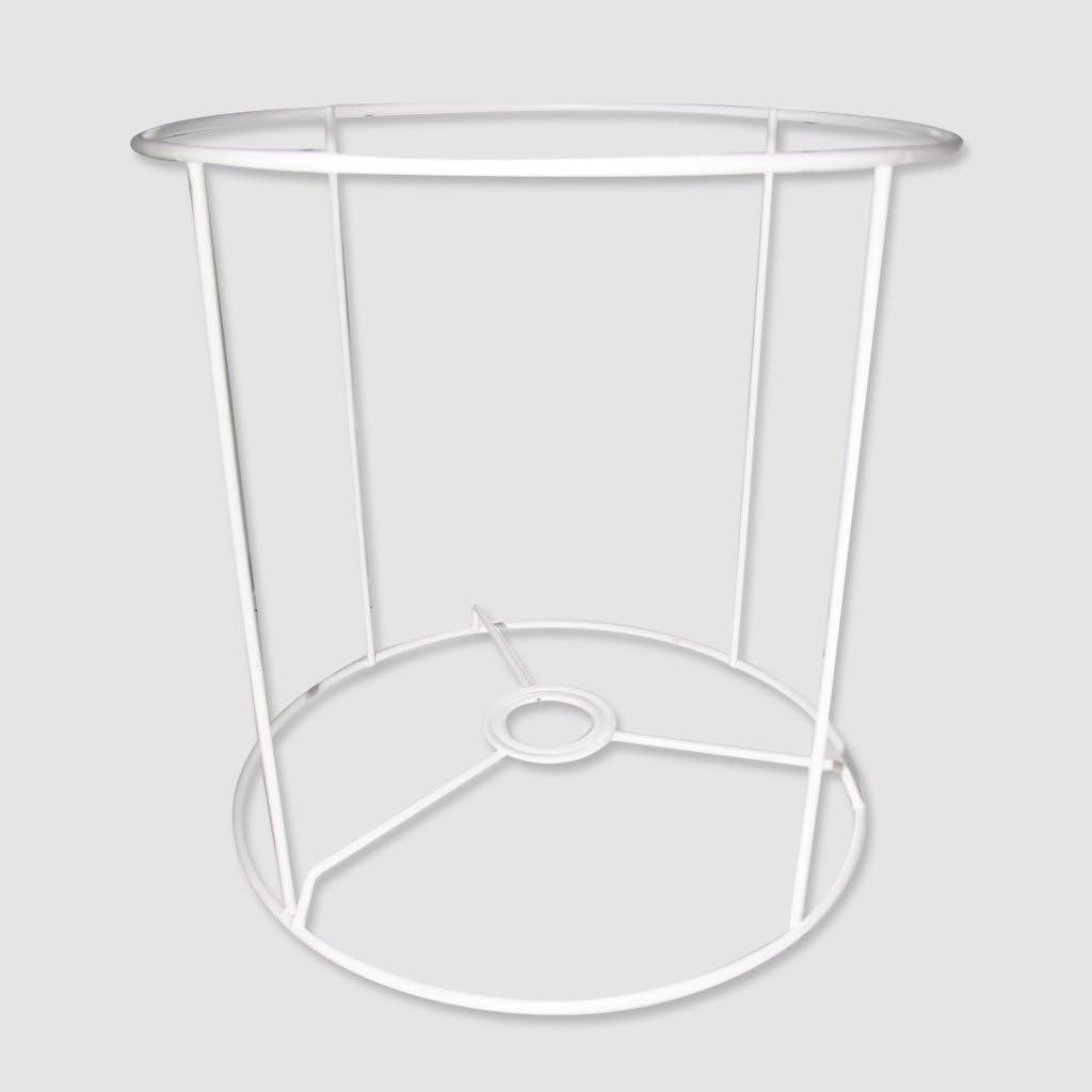 Armazón para pantalla de lámpara 20x20x20 cm Blanco x1: Amazon.es: Juguetes y juegos