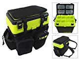 SEA MAX Seat Box & Rucksack. Tackle Seat Box. Sea Fishing Seat Box.