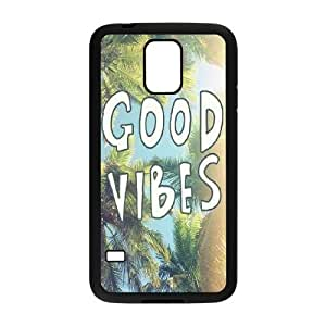 Good Vibes The Unique Printing Art Custom Phone Case for SamSung Galaxy S5 I9600,diy cover case ygtg581872