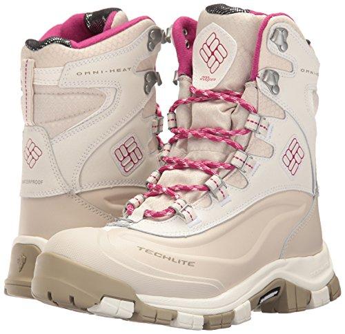 Columbia Women's Bugaboot Plus Omni-Heat Michelin Snow Boot, Sea Salt, Deep Blush, 9 B US by Columbia (Image #6)