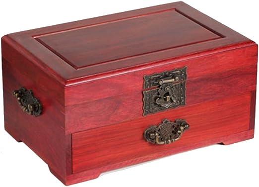 Wooden Jewelry Box Nan Caja de Madera de Rosewood Antigua Caja de ...