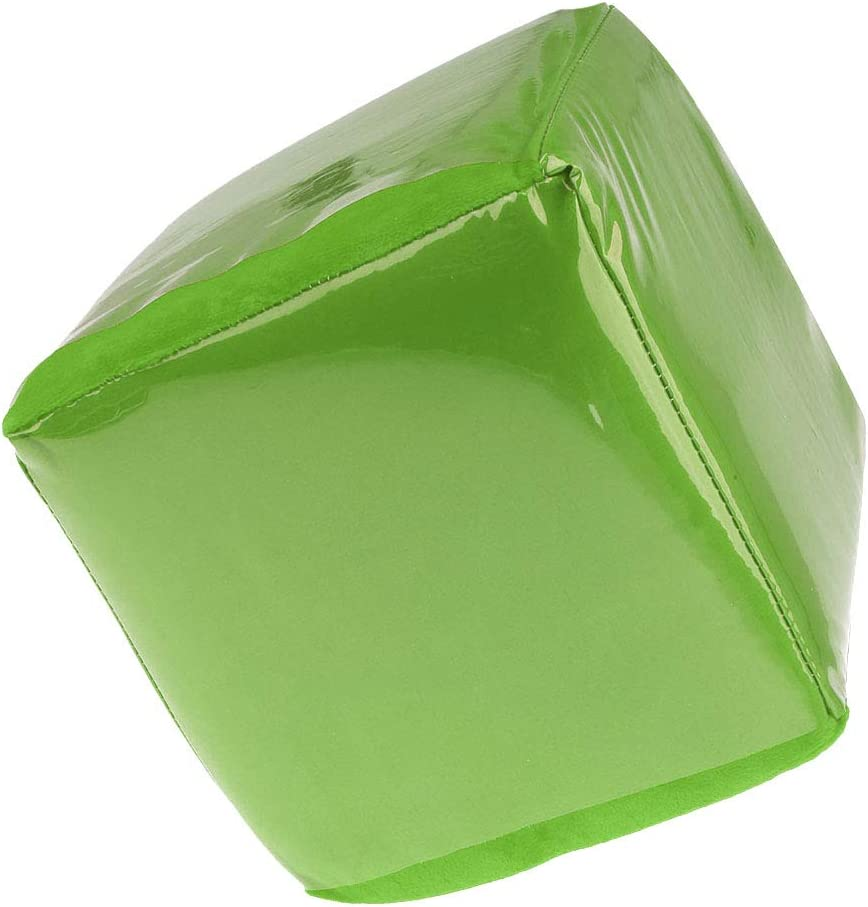 SM SunniMix Almohada Dados de Peluche Juguetes Dice Pillow 20 cm - Verde