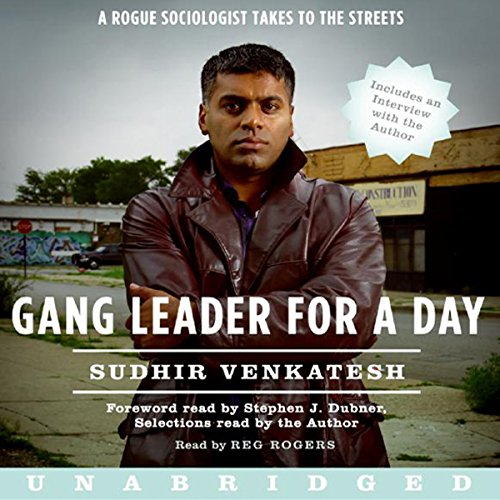 Gang Leader for a Day Audiobook [Free Download by Trial] thumbnail