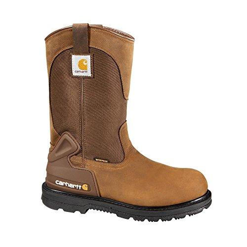 - Carhartt Footwear CMP1100 11-Inch Bison Waterproof Work Boot - 10 M - Carhartt Brown