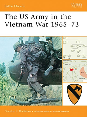 The US Army in the Vietnam War 1965-73 (Battle Orders) (Of Vietnam Battle Order)