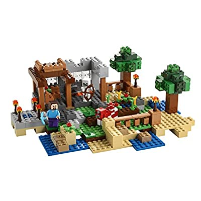 LEGO Minecraft 21116 Crafting Box: Toys & Games
