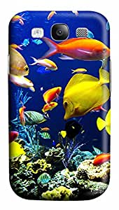 Samsung Galaxy S3 I9300 Cases & Covers - Tons Of Fish Custom PC Soft Case Cover Protector for Samsung Galaxy S3 I9300