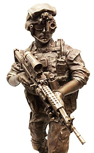 Altar Statue Sculpture (MILITARY SPECIAL COVERT NIGHT MISSION UNIT SOLDIER STATUE SCULPTURE STRIKE)