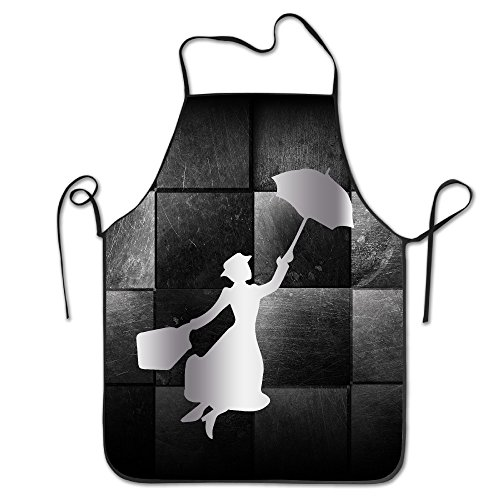 [Mary Poppins Platinum Style Stitched Edges Cooking Apron] (Baby Xray Costume)
