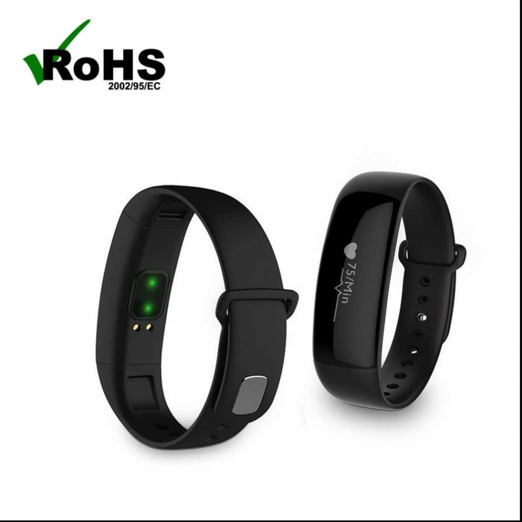 Pulsera de Actividad para Deporte,Pulsera Inteligente con Fitness Tracker Monitor de Calorías Monitoreo de frecuencia cardíaca Notificación de mensajes para SmartPhones iPhone y Android