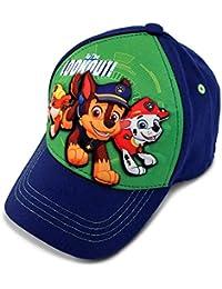 Nickeldeon Paw Patrol Boys Baseball Cap with Character 3D POP (Age 2-4)