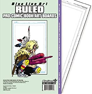amazoncom ruled pro comic book art boards 11x17 prints