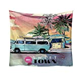 AKwell Scenic Tourism Tapestry Pattern Fresh Style Decorative Tapestry Home Decor Home 3D Cosmic Galaxy Tapestry