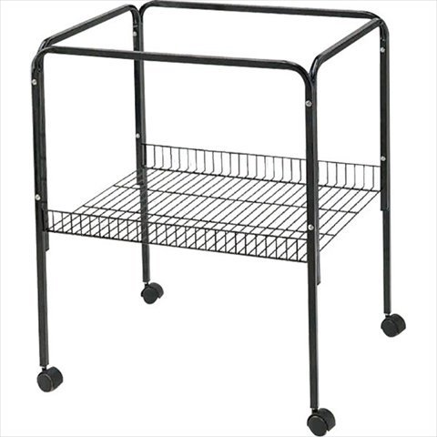 A and E Cage Co. Black Bird Cage Stand by A and E Cage Company